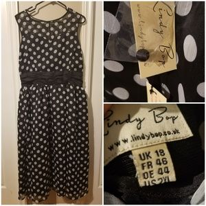 Lindy bop polka dress Size 18 UK / 2xl US